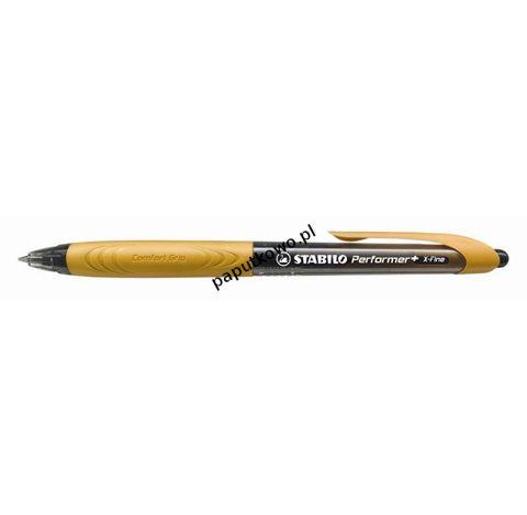 Długopis Stabilo Performer+ X-Fine, niebieski wkład 0,38 mm (328/3-46-2)