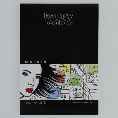 Blok artystyczny Gdd Happy Color do markerów A4 100g 25k (HA 3710 2030--A25)