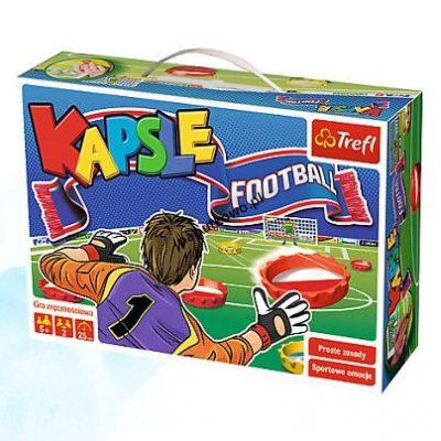 Gra zręcznościowa Trefl Kapsle Football (01073)