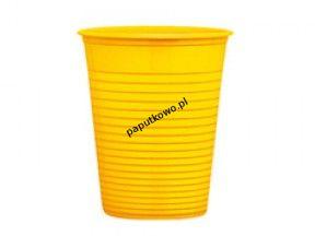 Kubek jednorazowy Dopla żółty 200 ml 200 ml (K200K)