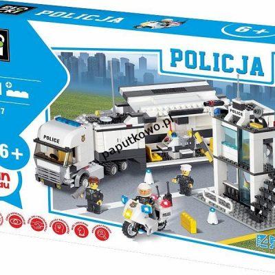 Klocki plastikowe Icom Klocki Blocki Policja (KB6727)