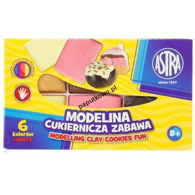 Modelina Astra 6 kol. cukiernicza zabawa mix (304114001)