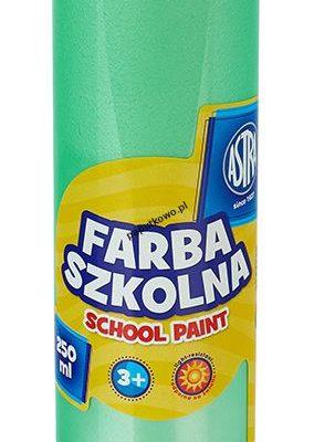 Farby plakatowe Astra szkolne kolor: zielony 250 ml 1 kol.