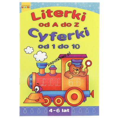 Książka dla dzieci Literka Literki od A do Z. Cyferki od 1 do 10.
