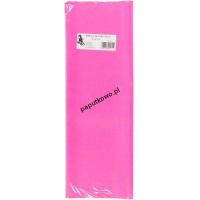 Bibuła gładka rózowa jasna gładka różowa 700 mm x 500 mm (11)