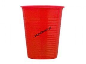 Kubek jednorazowy Dopla czerwony 200 ml 200 ml (K200CZ)