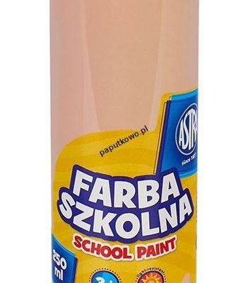 Farby plakatowe Astra szkolne kolor: cielisty 250 ml 1 kol.