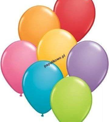 Balon gumowy pastelowy Arpex neon mix 9cal 25 szt (K960)