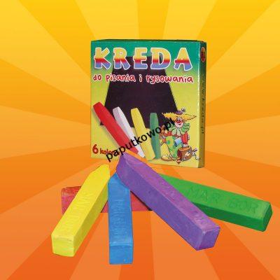 Kreda Mar-Bor B3 kolor: mix śr. 12 mm 6 szt