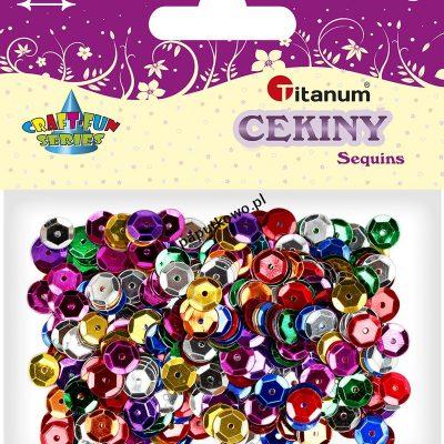Cekiny Titanum Craft-fun Craft-Fun Series okrągłe (CO041)