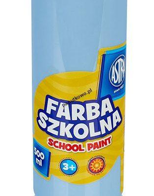 Farby plakatowe Astra kolor: błękitny 500 ml 1 kol.