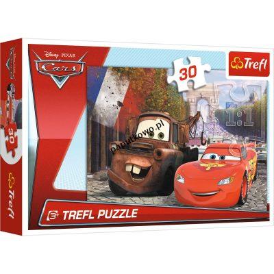 Puzzle Trefl Cars 2 Złomek i Zygzak w Europie 30 el. (18206)