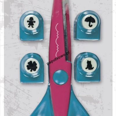 Nożyczki dekoracyjne Titanum Craft-fun nożyczki i dziurkacze kreatywne 16,5 cm (T-8603)