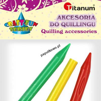 Akcesoria do quillingu Titanum Craft-fun Craft-Fun Series Igły do quillingu (DIY-008)