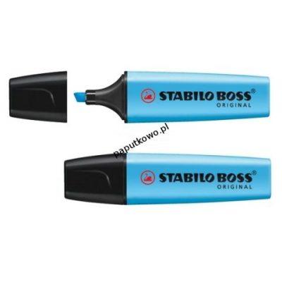 Zakreślacz Stabilo BOSS, niebieski wkład 2,0-5,0 mm (70/31)
