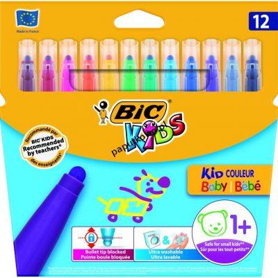 Flamaster Bic Kids Kid Couleur Baby 12 kol. (902080)
