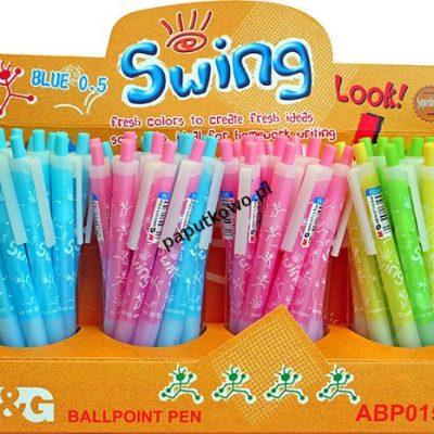 Długopis M&G Swing, niebieski wkład 0,5 mm (BP0150i)
