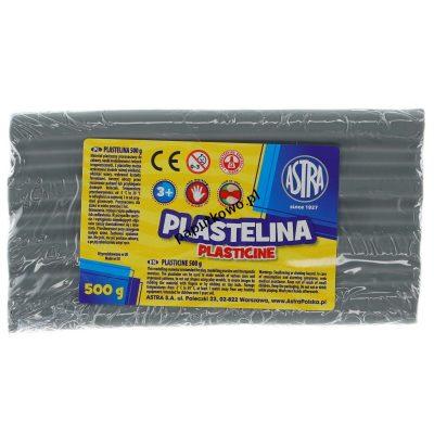 Plastelina Astra 1 kol. popielata