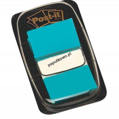 Zakładka indeksująca Post-It 50 25x43 niebieska (680-23)