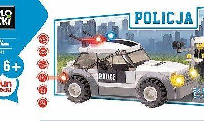 Klocki plastikowe Icom Klocki Blocki policja (KB6731)