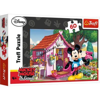 Puzzle Trefl Miki i Minnie w ogrodzie 60 el. (17285)