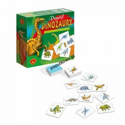 Gra pamięciowa Alexander Dinozaury (5906018005332)