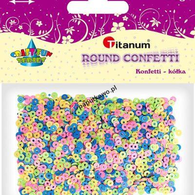 Konfetti Titanum Craft-fun Craft-Fun Series kółka (KK011)