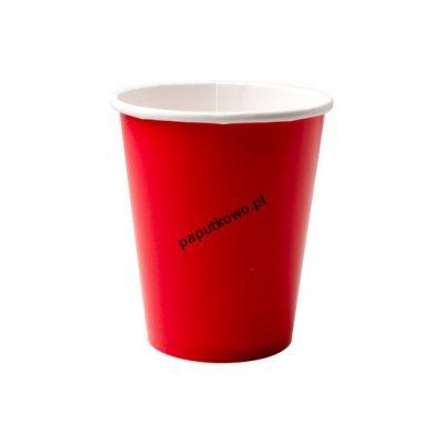 Kubek jednorazowy Amscan jednokolorowe czerwone 355 ml (552287-40)
