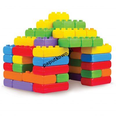 Klocki konstrukcyjne cegły junior 60 el. (901 700)