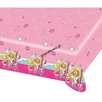Obrus Amscan Barbie popstar 120x180 cm 1200 mm x 1800 mm (999627)