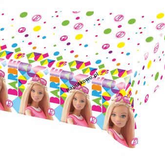 Obrus Amscan Barbie sparkle 120x180 cm 1200 mm x 1800 mm (999950)