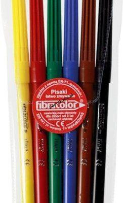 Flamaster Fibracolor 6 kol.