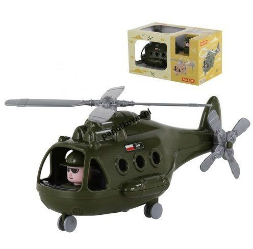 Helikopter Wader wojskowy alfa śmigłowiec
