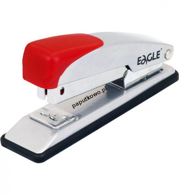 Zszywacz Eagle srebrno-czerwony 20k (205)