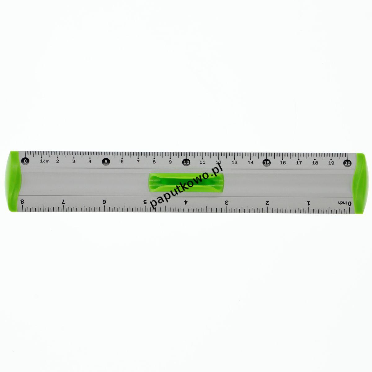 Linijka aluminiowa Tetis linijka 20 cm (BL040)