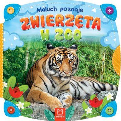 Książeczka edukacyjna Aksjomat Maluch poznaje. Zwierzęta w ZOO (2296)