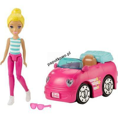 Lalka Barbie on the go pojazd lalka (fhv76)