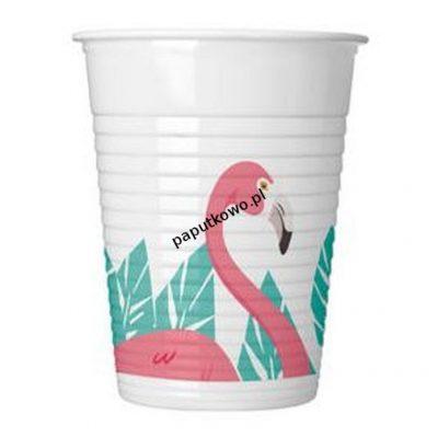 Kubek jednorazowy Godan flamingo 200 ml (89593)