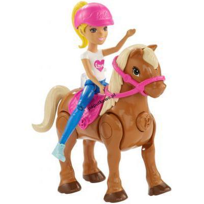 Lalka Barbie on the go kucyk lalka 100 mm (fhv60)