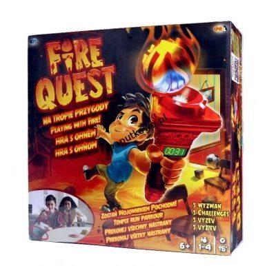 Gra zręcznościowa Epee Epee fire quest na tropie przygody (ep02848)