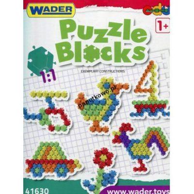 Klocki plastikowe Wader puzzle (41630)