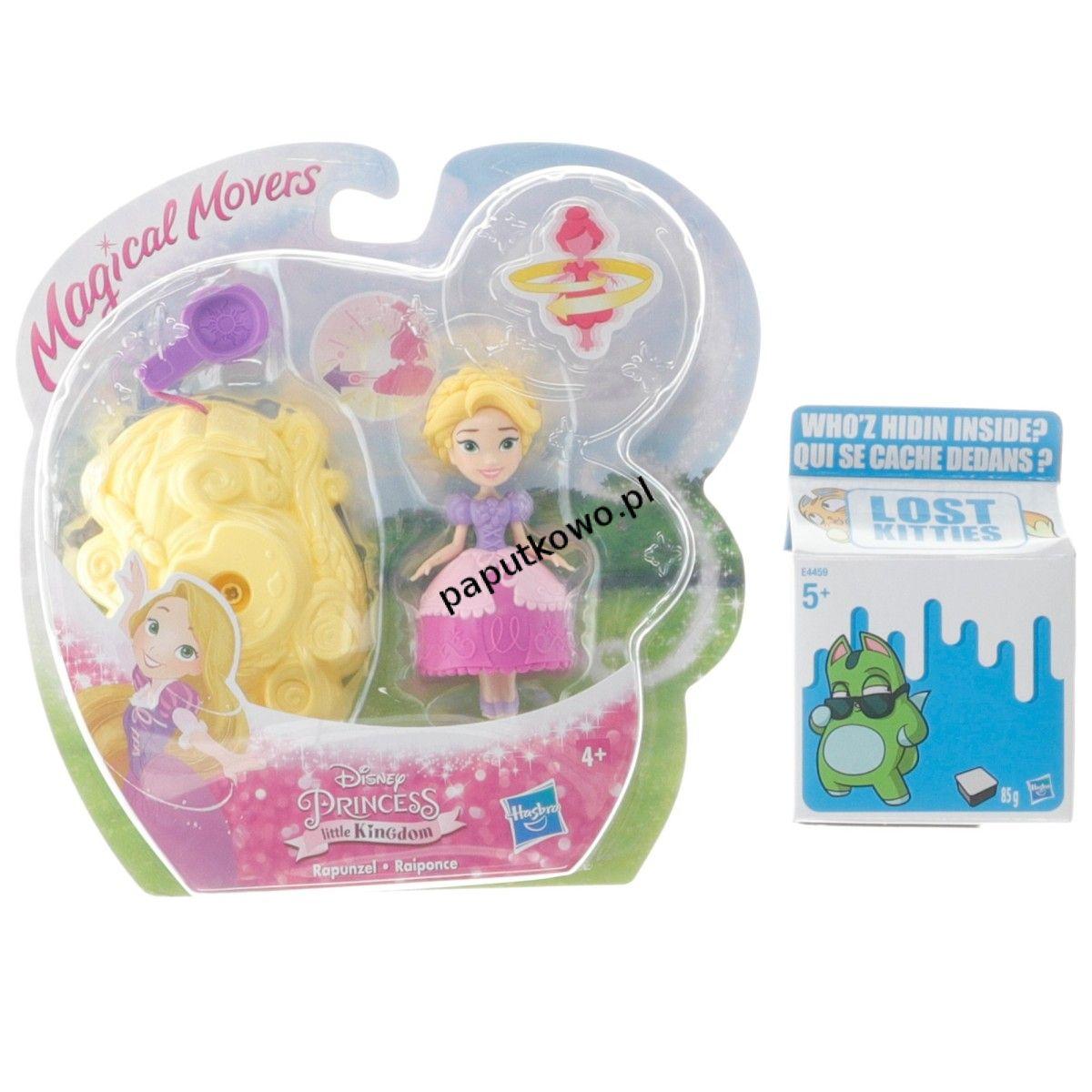 Lalka Hasbro magiczna ruchoma księżniczka (e0067)