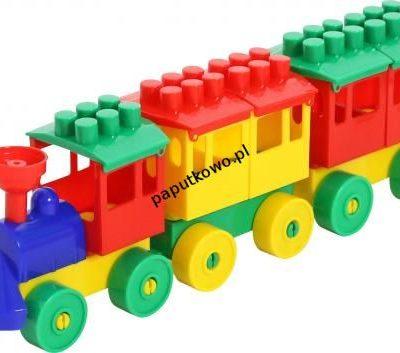 Kolejka Wader lokomotywa 2 wagony (36704)