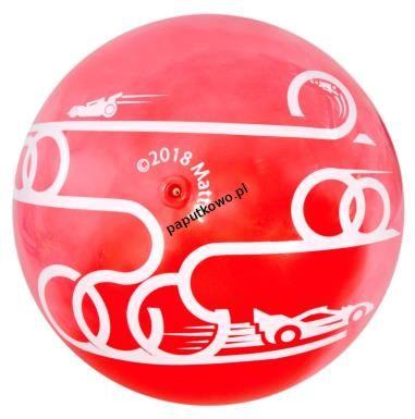 Piłka miękka PVC Mega Creative Hot Wheels pilka 23 cm (397623)