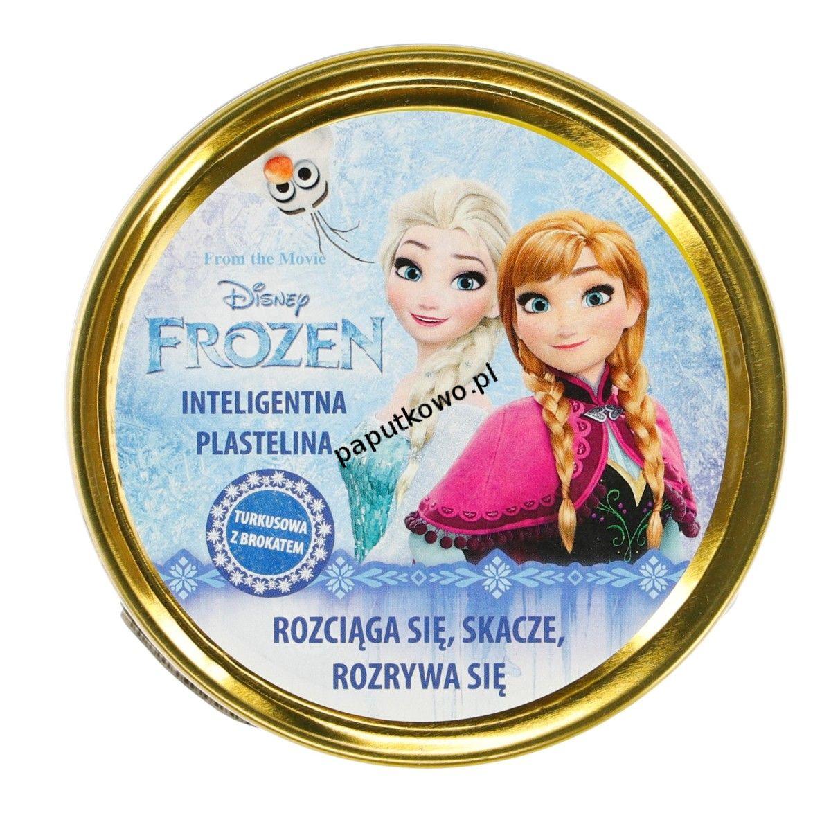 Plastelina Astra 1 kol. Disney Frozen turkusowy