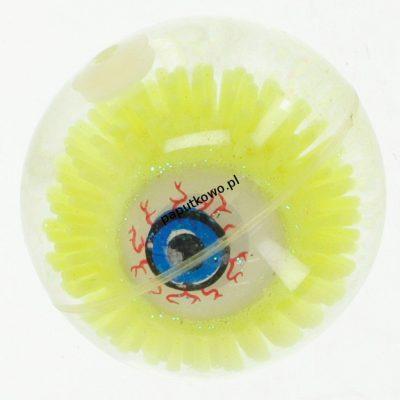 Piłka miękka guma Bigtoys gumowa oko świecąca 5,5 cm (BPIŁ1436)
