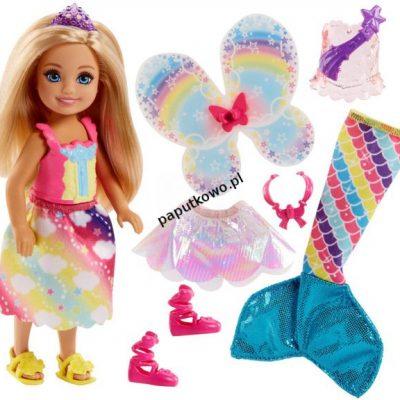 Lalka Barbie chelsea baśniowa przemiana (fjc99)