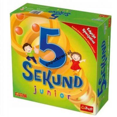 Gra planszowa 5 dekund junior 2.0 Trefl (01643)