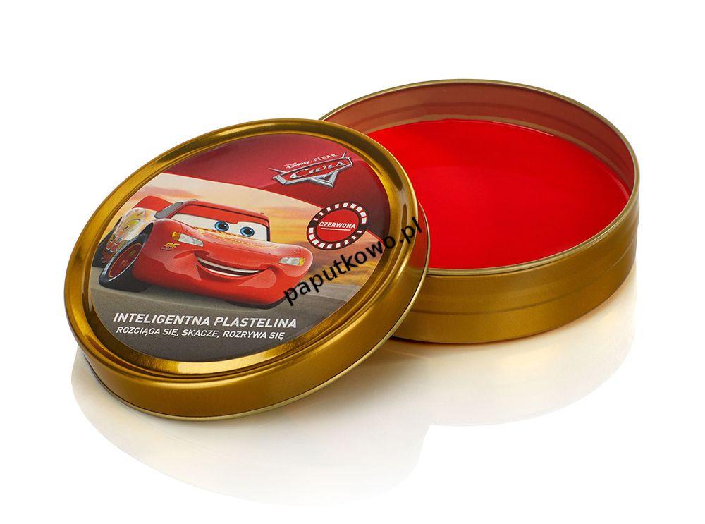 Plastelina Astra 1 kol. Disney Cars czerwony