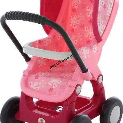 Wózek Wader dla lalek spacerowy nr 2 4 kołowy w woreczku (48158)